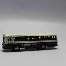 N Scale Railway 1:160 Diecast Mini Buses Model - White and Green
