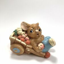 "Pendelfin Rabbit ""Barrow Boy"" Stonecraft Figurine - Hand Painted Made in England"