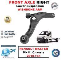 Asse Anteriore Destro Braccio Oscillante Inferiore per Renault Master III Telaio