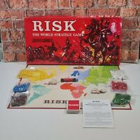Vintage Risk Red Box Edition Board Game Strategy Game 1963 100% Complete