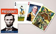 Presidentes Conjunto De 52 Jugar Tarjetas + Bromistas ( Gib )