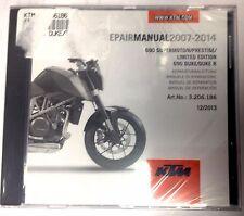 NEW KTM OEM REPAIR MANUAL DISK 690 SMC SMC R PRESTIGE DUKE R 2007-2015 3206225