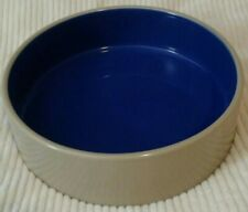 "9.5"" Stoneware Crock dog dish/bowl Ethical Products Inc."
