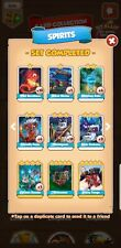COIN MASTER 6 PACK SPIRITS CARDS. Fast Delivery