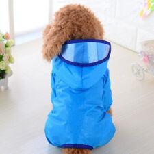 2 XS Cute Puppy Waterproof Clothes Outdoor Jacket Coat Pet Dog Hooded Rain Coat
