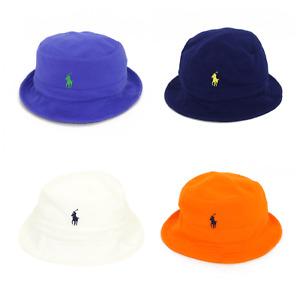 Polo Ralph Lauren Solid Floppy Safari Bucket Hat Cap -- 4 colors --
