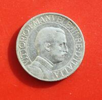 Italien 1 Lira 1913 Silber KM# 45  F# 2229 VZ-XF Top Stück!