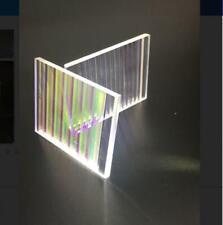 5pcs Optical Glass large Prism Science Physics Research Decoration Lens