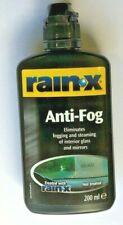 RainX Rain X Anti Fog Clear Mist Repellent Windscreen 200ml - Best offer on eBay