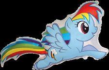 """Mi Pequeño Pony Rainbow Dash Supershape Globo Fiesta 41"""" globo de la hoja"""