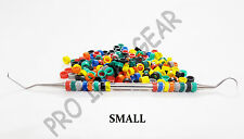 Dental / Hygienist Instrument Silicone Color Code Rings 100 pcs ( Assorted )