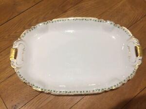 """CH Field Haviland Limoges France Porcelain Large Serving Platter 18 1/2"""""""