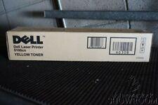 New Sealed Box Genuine OEM Dell Laser Printer 5100cn Yellow Toner CT200546 HG308