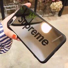 "Newest design Supreme Shock Defense HD mirror case iPhone 7 PLUS, 5.5"" (Black)"