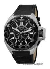 ESPRIT COLLECTION ES-ASOPOS NIGHT EL101011F02 Herrenuhr Leder Chrono NEU