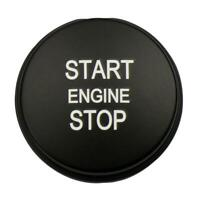 Start Stop Engine Button Replace Cover for Land Rover Range Rover (Black) JF#E