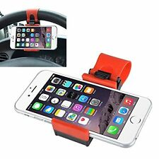 Car Truck Jeep Steering Wheel Smart Cell Phone Mobile GPS Holder Stand Socket