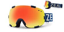 New Zeal Optics Voyager Polarized Goggles 10791 Ski/Snow board &night lens