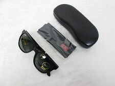 Ray-Ban Sunglasses Black Frame Green Classic G-15 Lens RB 4184 601