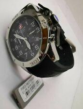 Swiss Alpine Military Chronograph Taucheruhr 10 ATM 100m wasserdicht Silikonband