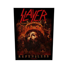 scayer repentless back patch sew on official badge album band heavy metal