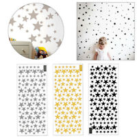 110Pcs Multi-sized Star Wall Stickers Art Bedroom Vinyl Decor Baby Room Decals