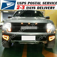 For 04-2014 Ford F 150 LED Headlight+Fog+Brake+Turn Signal+Grille Combo kit 14X