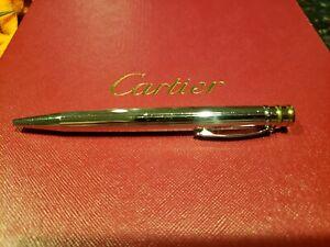 "Cartier ""Trinity de Cartier"" Palladium ballpoint pen"