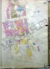 Rare Original 1931 Newark New Jersey NJ Bell Telephone Sanborn Map Atlas 18 x 27