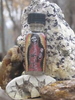 Santa Muerte Oil-Hoodoo, Witchcraft- Miracles, Fidelity, Good Fortune