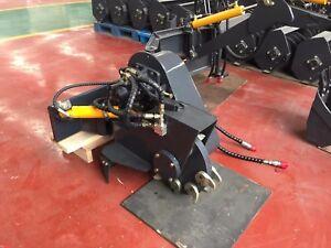 Hysoon Stump Grinder swing head type for mini diggers & mini loaders