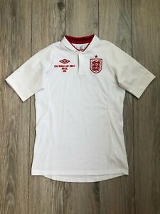 England 2012-2013 FIFA World Cup Finals Brazil 2014 Shirt Jersey XL boys 158 cm