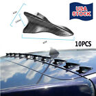Parts Accessories Car Roof Stickers Shark Fin Decoration Carbon Fiber For Toyota