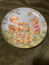 Life'S Little Blessings Plate Blessed Are Ye By Ruth J. Morehead