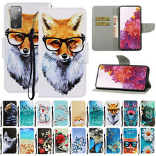 For Samsung Galaxy S20 FE Pattern Magnetic Leather Flip Wallet Phone Case Cover