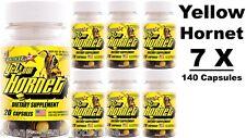 Stacker 2 Yellow Hornet Energy 20ct EphedraFree (Lot of 7 X Bottle) 140 Capsules
