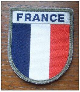 """Écusson OPEX """" FRANCE """" haute visibilité sur support auto-agrippant - NEUF"""