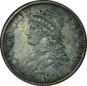 1831 Capped Bust Half Dollar XF Condition All Original w/ Great Eye Appeal