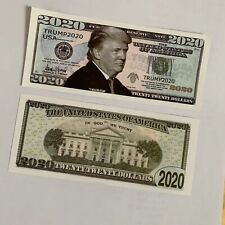 5pcs 2020 Donald Trump Commemorative Coin President Paper Banknote Non-currency