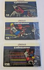 Group of 3  Ameritech Coin$aver Artistic Soccer Series phone cards in cello