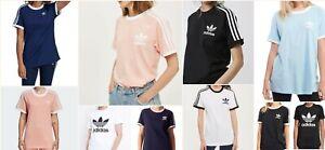 Women Adidas California Trefoil T-shirt short sleeve Navy / Pink / Khaki / Olive