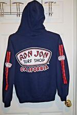 RON JON SURF SHOP CALIFORNIA SWEATSHIRT HOODIE SURFING SURFER BLUE