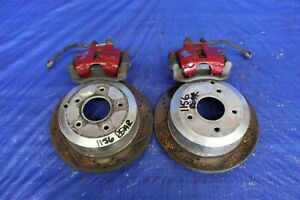 2005 05 PONTIAC GTO LS2 6.0L OEM LH RH REAR BRAKE CALIPERS & ROTORS #1156