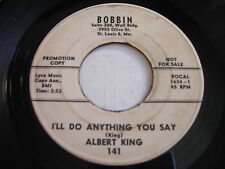 PROMO Albert King I'll Do Anything You Say / Some Changes 1963 45rpm