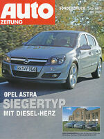 Opel Astra 1.9 CDTI  VW Golf 2.0 TDI Ford Focus 2.0 TDCI Sonderdruck 24 04 2004