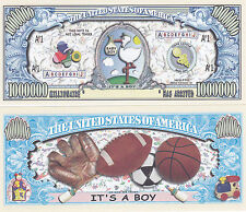 It's a Boy! Birth Announcement Keepsake Bill #157