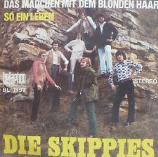 """7"""" 1971 RARE VG+ ! DIE SKIPPIES : Das Mädchen mit dem blonden Haar"""