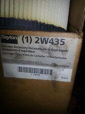 New Dayton Part No. 2W435 Shop Vac Wet Dry Pickup Cartridge Filter NIB