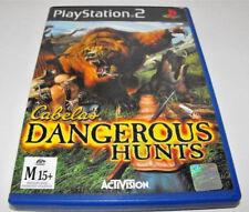 Cabela's Dangerous Hunts PS2 PAL *Complete*