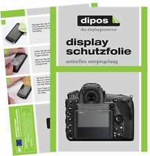 6x Nikon D850 SLR Schutzfolie matt Displayschutzfolie Folie Display Schutz dipos